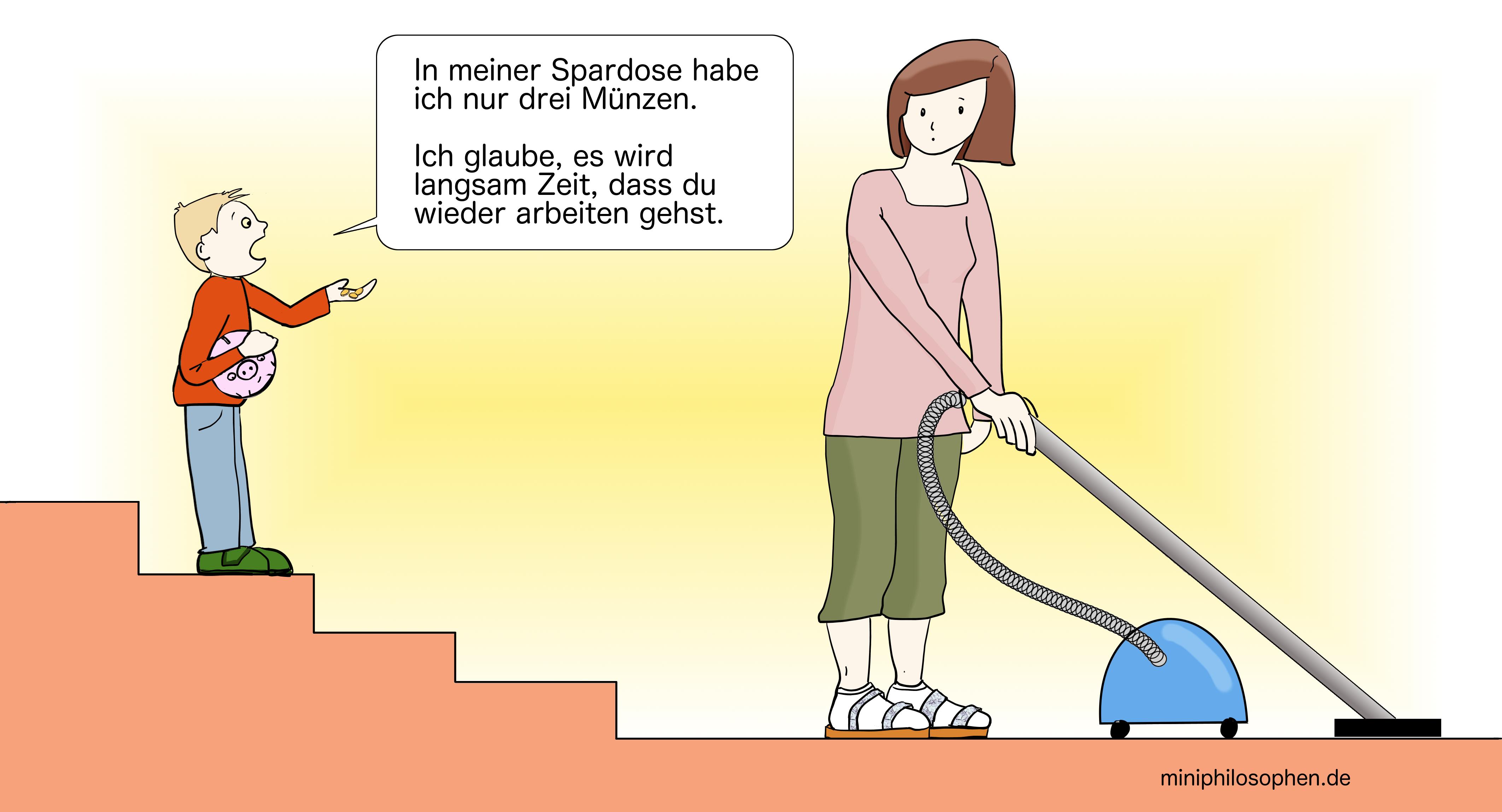 Hausfrau sein am Weltfrauentag